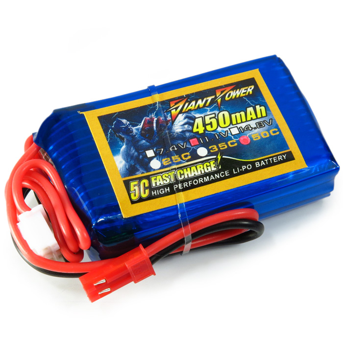 Giant Power 450mAh 11.1V / 3S 50C Li-po Battery for Blade 180 CFX RC Helicopter