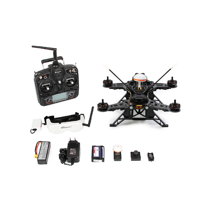 Walkera Runner 250 Upgraded Drone OSD Racer Modular HD Camera 250 Size Racing Quadcopter with DEVO 7 Transmitter ( Basic 3 Package ) US Plug