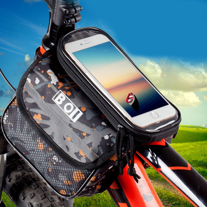4 8 Inch Touch Screen Smartphone Holder Pouch Black L