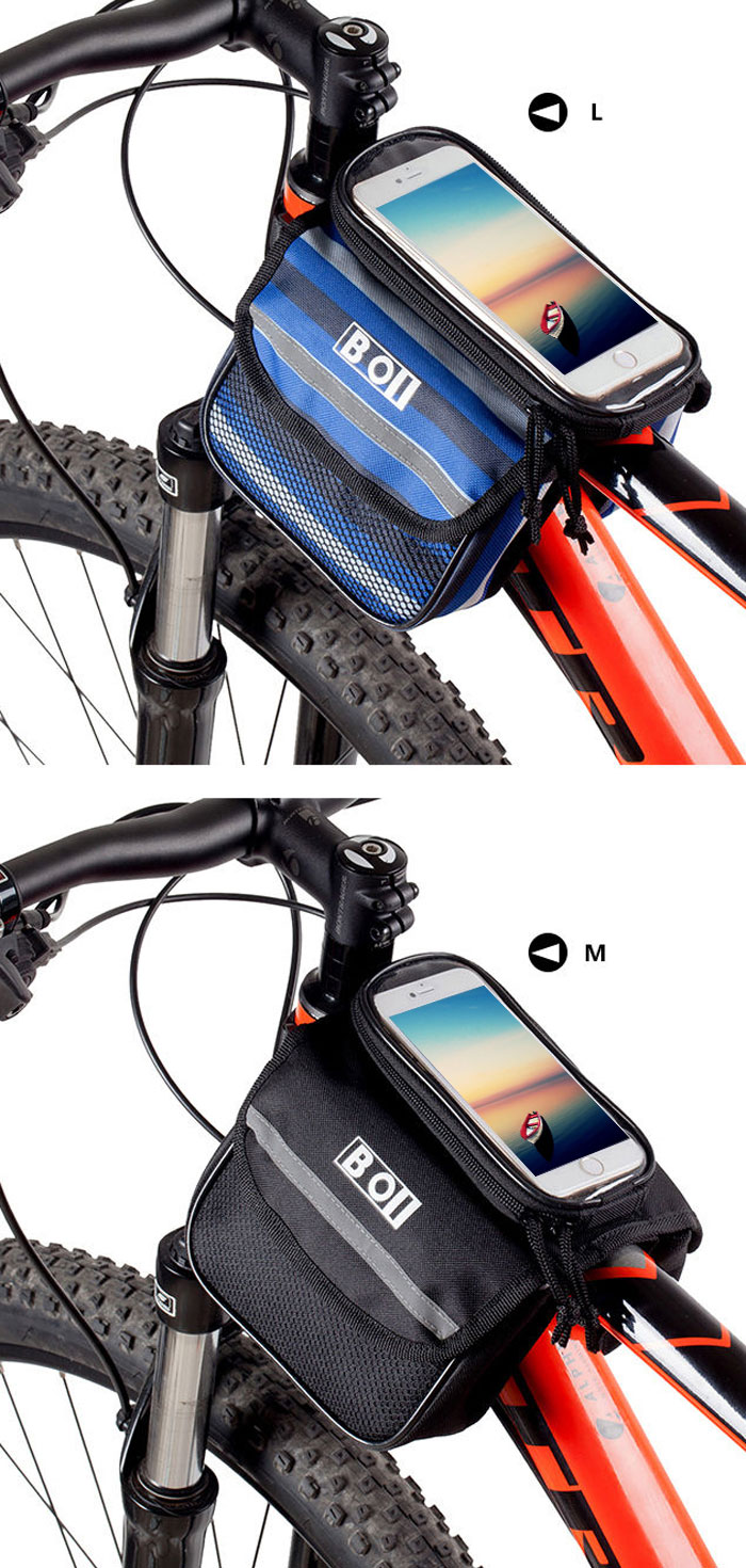 Boi Bicycle Front Tube Phone Bag L 10 91 Online Shopping