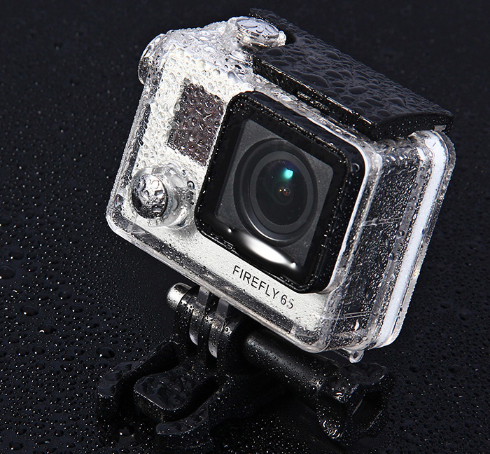 30m Waterproof Case Diving Protective Housing for Hawkeye FIREFLY 5S / 6S / 7S / 8S Action Camera Camcorder