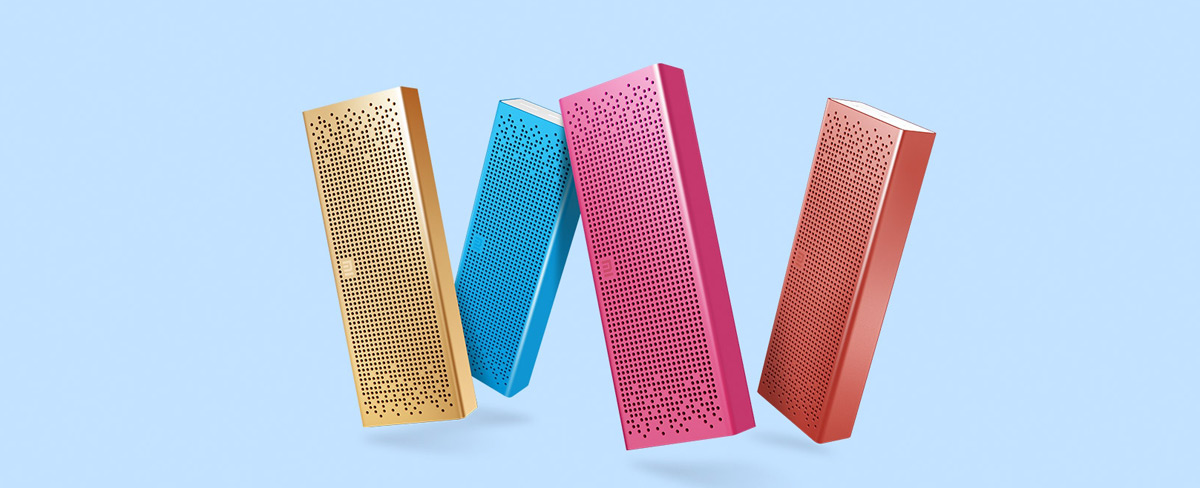 Xiaomi Bluetooth 4.0 Speaker introducción