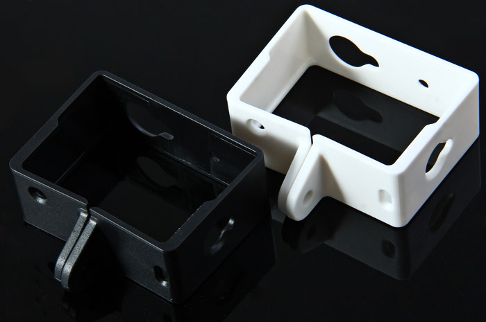 Protective Housing Side Frame Case for Yi Action Sports Camera- White