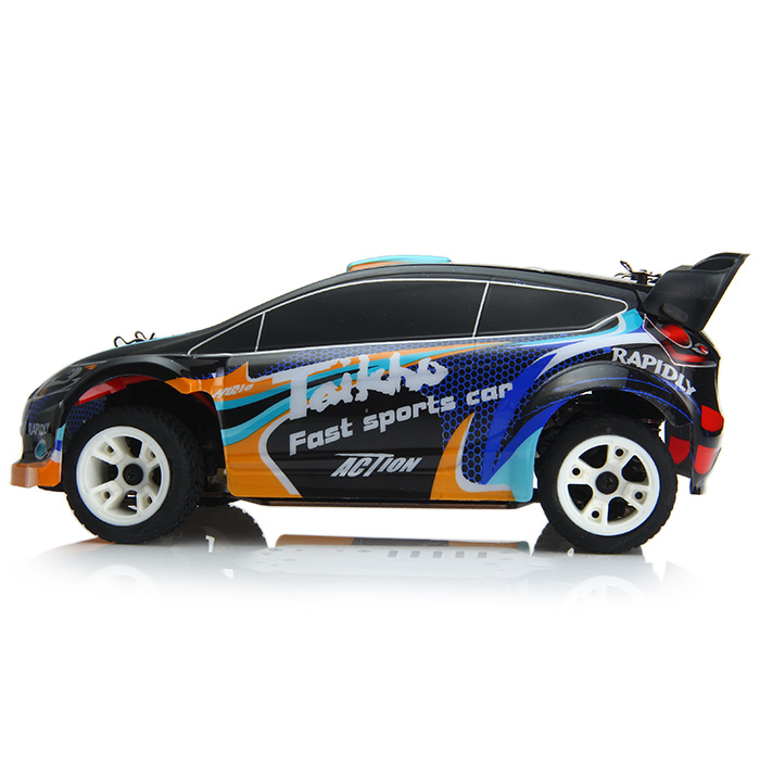 WLtoys A242 2.4G 4WD 1/24 Scale Electric Remote Control Rally Car- Black EU Plug