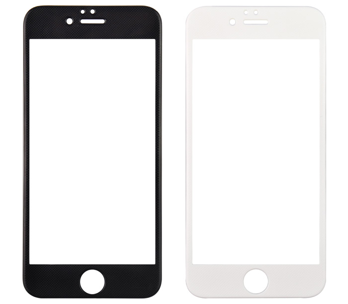 Angibabe Tempered Glass Protective Screen Film for iPhone 6 Plus Color CNF 9H 0.3mm 3D Arc Anti-explosion