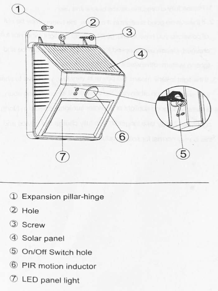 Pir Sensor Light Wiring Diagram