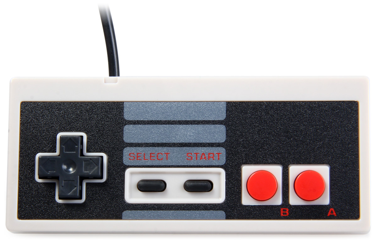 It only has A and B function buttons which directly used for NES simulator. Do you want to experience the gamepad of that generation? Just get it.