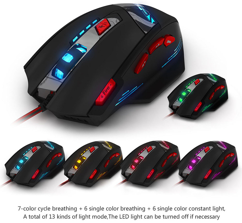 how to connect zelotes wireless gaming mouse