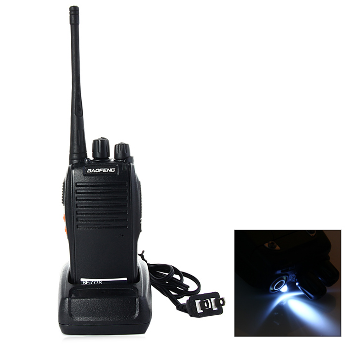 BAOFENG BF-777S UHF Walkie Talkie 16 Channels with Flash Light