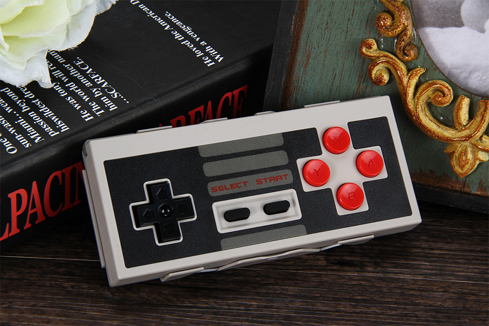 8Bitdo NES30 Wireless Bluetooth Gamepad Game Controller for iOS Android PC Mac Linux