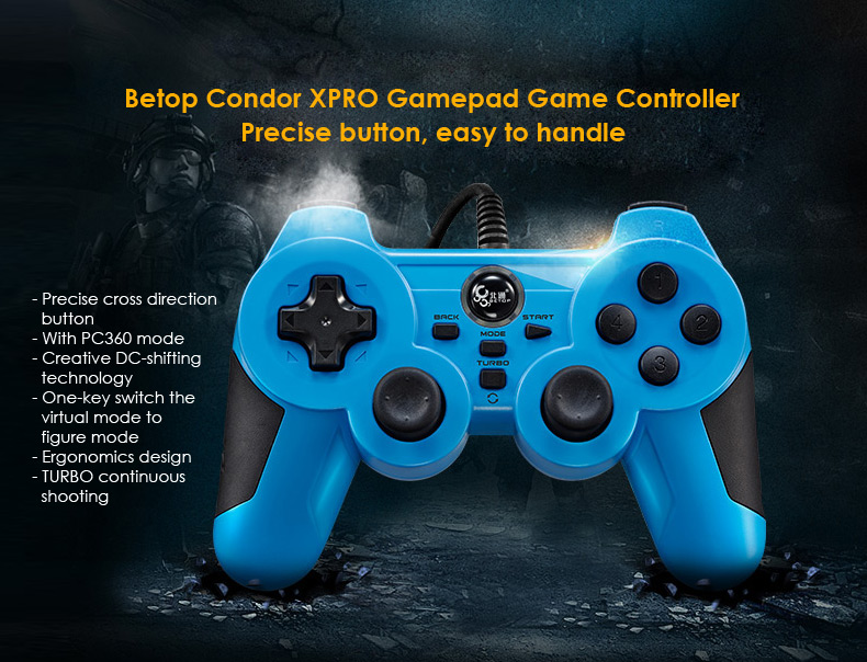 Betop Condor XPRO Wired Gamepad USB Game Controller Joypad - $16.12 ...