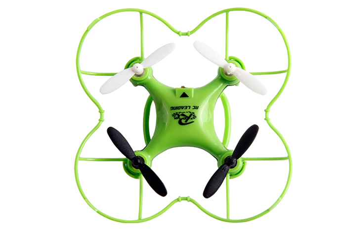 RC LEADING Mini RC101 2.4G 4CH 6 Axis Gyro Quadcopter with Light