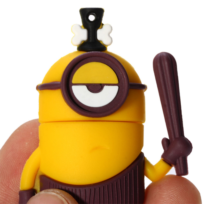 8GB Simple Eye Bee-do Shaped USB 2.0 Flash Memory for Home / Hotel / Office