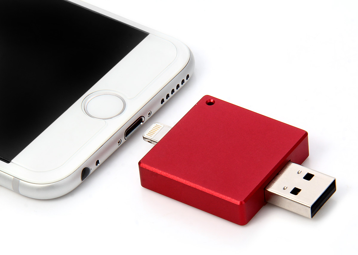 2 In 1 64gb Usb 20 I Flash Drive 2620 Free Shipping Disk Otg Iphone For All Pc Adndroid 8pin Interface Tablet