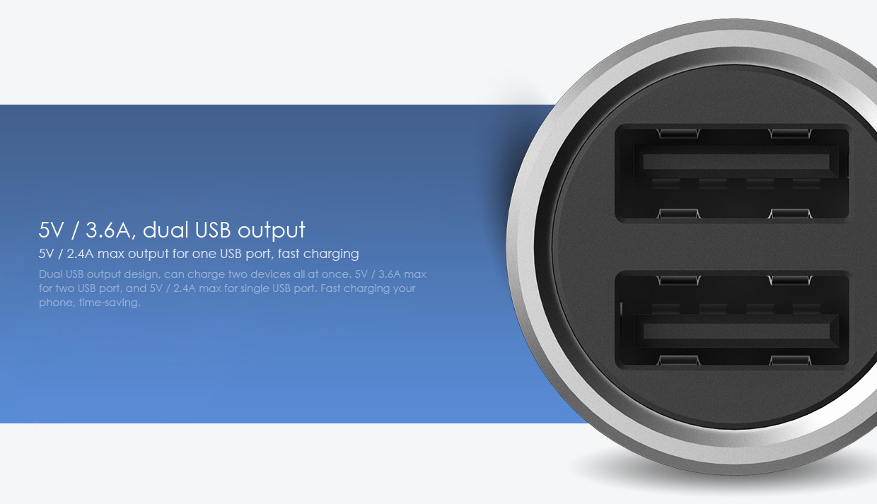 Built in usb intelligent chip not only for safety it also can effectively improve the charge conversion providing stable discharge voltage