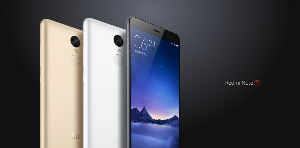 Xiaomi Redmi Note 3 4G Phablet