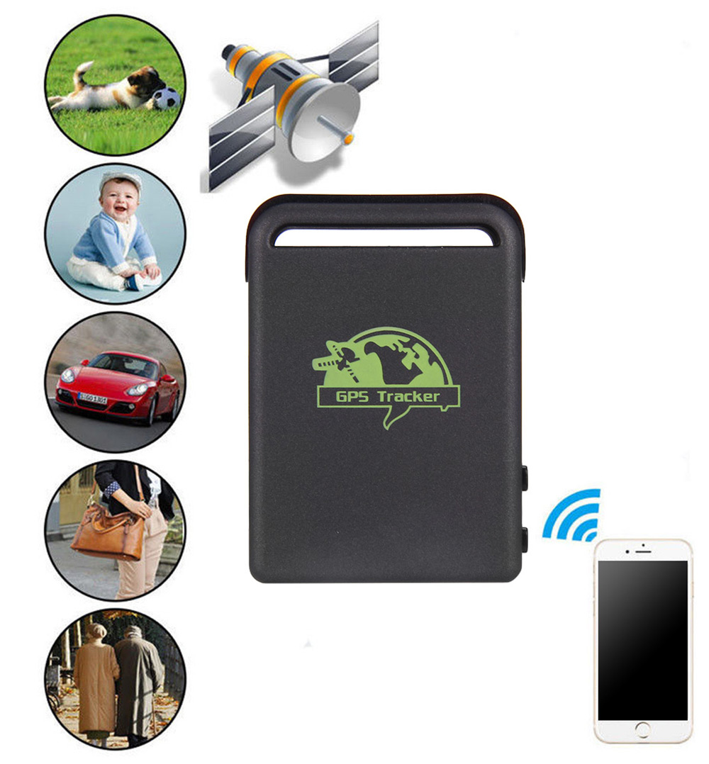 Tk102b car vehicle gps gsm gprs tracker locator sos over speed alarm