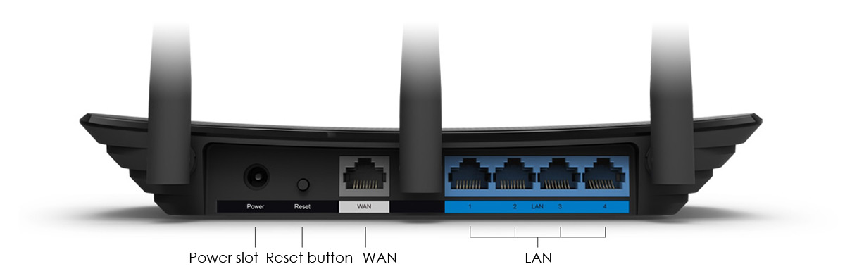 TP-Link TL-WR880N 450Mbps 2 4GHz WiFi Router Pure Black Version