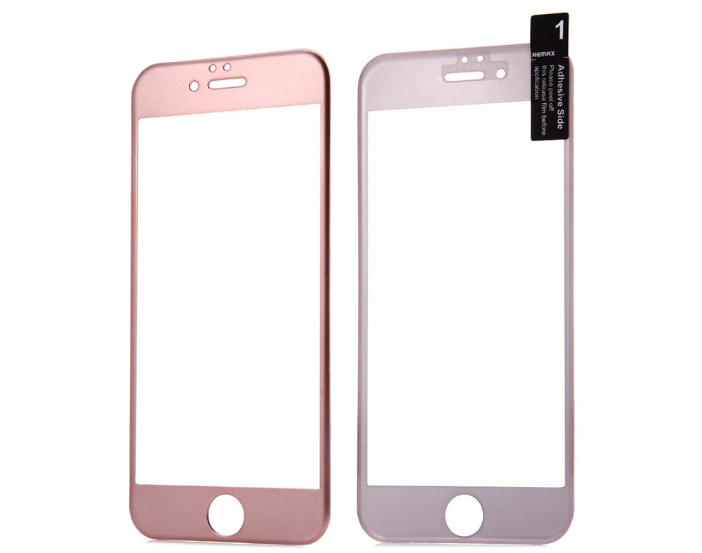 REMAX Practical Protective Nano Tempered Glass Screen Film for iPhone 6 Plus / 6S Plus 0.2mm- Black