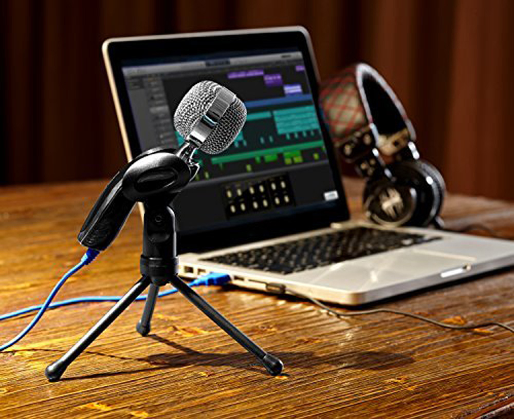 Yanmai Sf 922b Usb Condenser Sound Microphone 1410 Free Shipping Gaming Studio Recording Bm700 Mic For Pc Laptop Komputer Audio With Stand Blue And