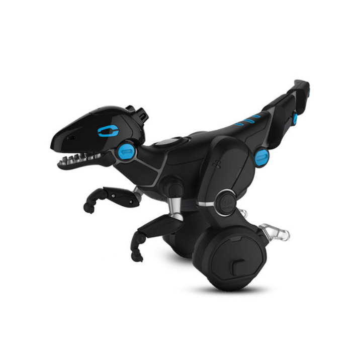 WowWee Taming Miposaur Intelligent Robot 6 Game Mode APP Control Gesture Sense with Track Ball- Black