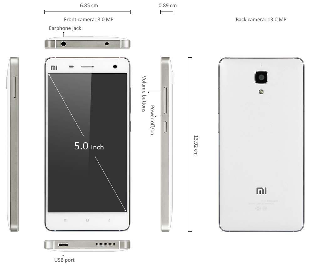 Xiaomi Mi4 64gb 3g Smartphone 19220 Free Shipping 85 Blazer Wire Diagram Instrument Product Notes 1 Download Your Favorite Apps Through The Google Play Store Or Market Installed 2 Note This Smart Phone Is Designed Only To Work With