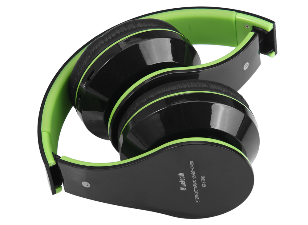 AT-BT809 Bluetooth Plegable Estéreo Auricular Retráctil