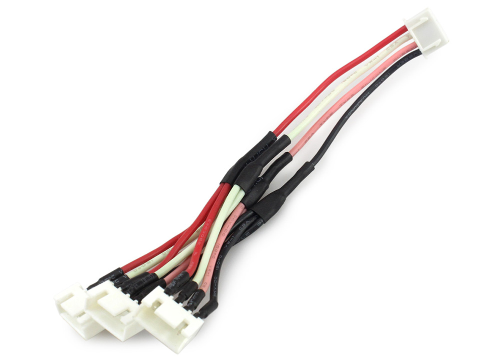 3 in 1 11.1V 2S Battery Connector Adapter Cable for RC Quadcopter ...