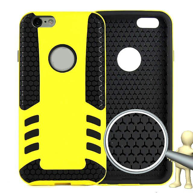 Rocket Pattern TPU and Plastic Material Back Cover Case for iPhone 6 - 4.7 inch