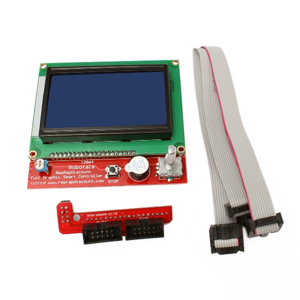 RAMPS1 4 PCB + LCD Smart Controller Board