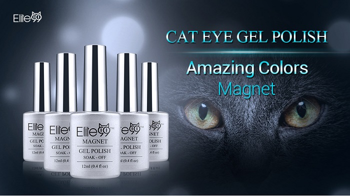 Elite99 Cat Eye 3D Magical Gel Polish Soak Off UV LED Nail Art  Manicure Salon12ml