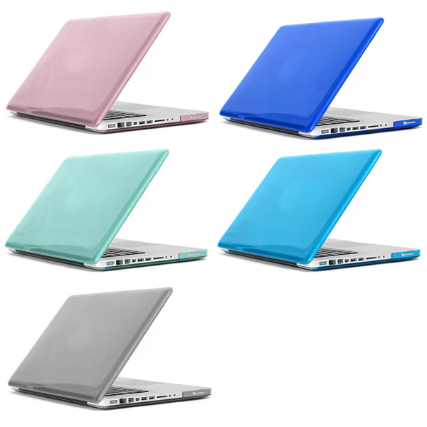 Hat-Prince Transparent Crystal Protective Hard Case for MacBook Pro 15.4 inch Solid Color