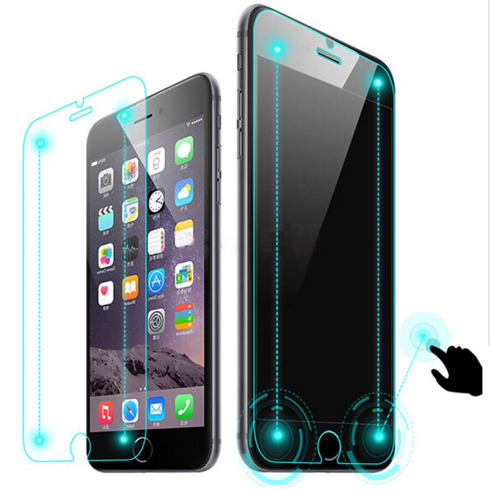 ASLING Smart Touch HD Tempered Glass Screen Film Protector for iPhone 6 / 6S High-Definition