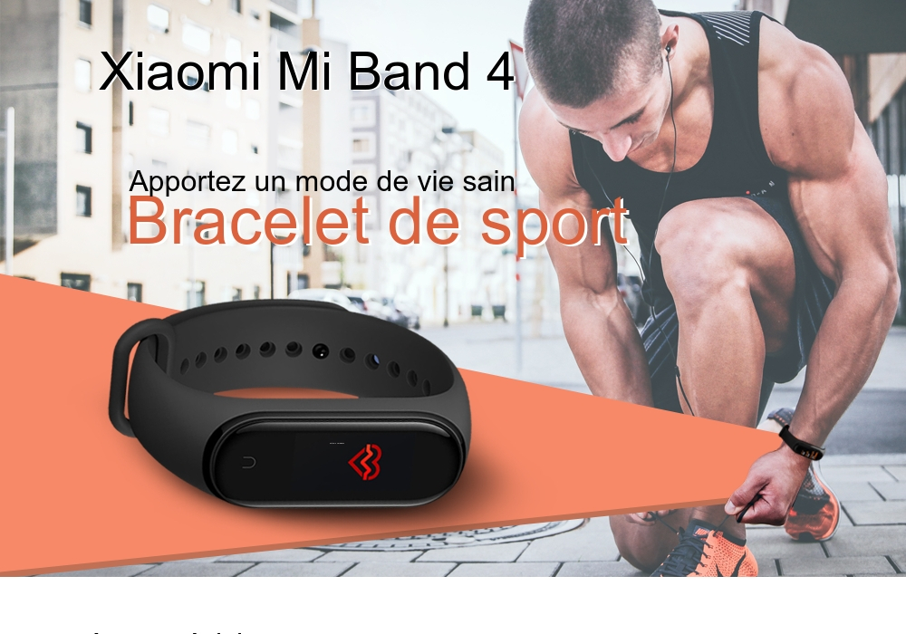 Xiaomi Mi Band 4 Bracelet Intelligent Version Internationale- Noir