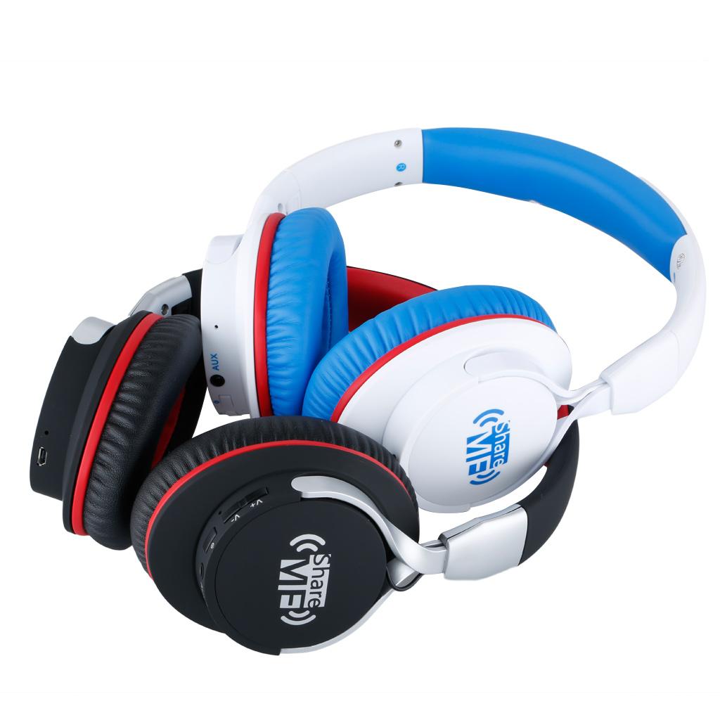 Ausdom Ah861 Shareme Fashion Stereo Music Couples Headphone Headset Bluetooth 41 For Android And Ios Phone
