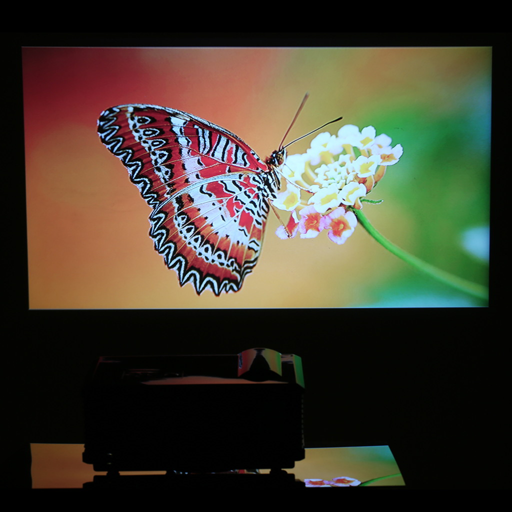 Hd Home Theater Multimedia Lcd: Excelvan HD Home Theater Multimedia LCD LED Projector 720p
