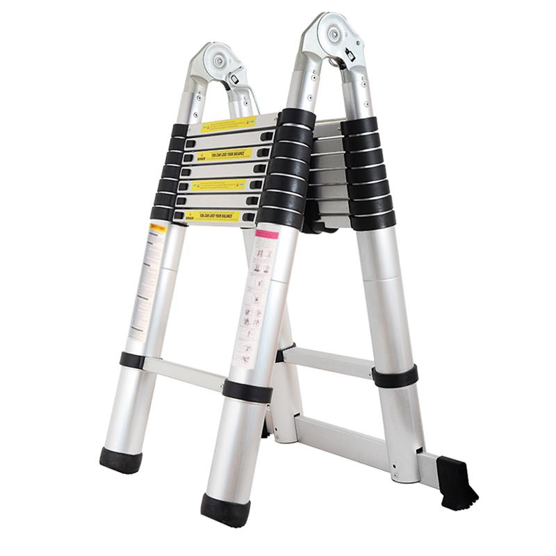 TELE LADDER 250D 16) Finether 5M Portable Heavy Duty Multi-Purpose ...