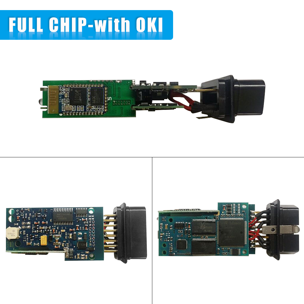 5054A+OKI Chip ODIS V3 0 3 Bluetooth Diagnostic Tool for Skoda Seat Bentley  Lamborghini and other vehicles