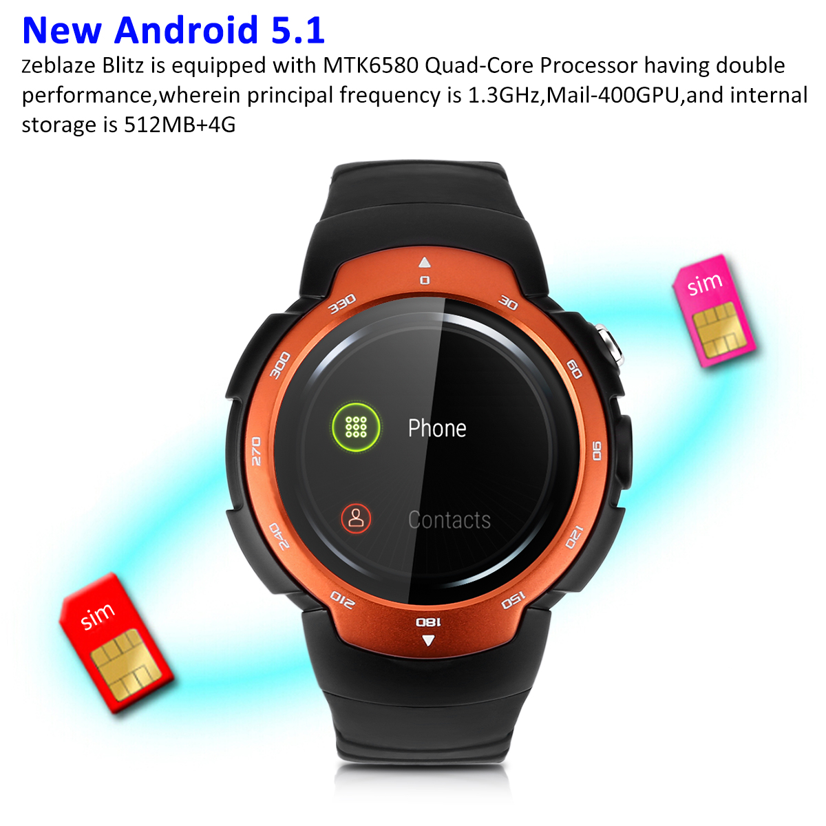 gearbest watches shipping com pp free cell phone smart watch bluetooth