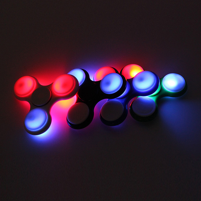 Anti Stress Toy Color Changing LED Fid Finger Spinner $6 39