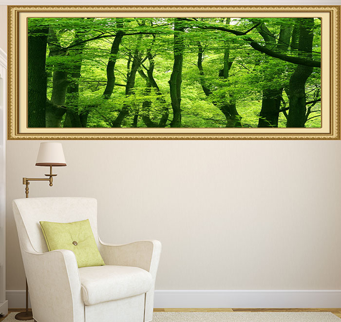 Forest Printed Decorative Multifunction Wall Art Sticker