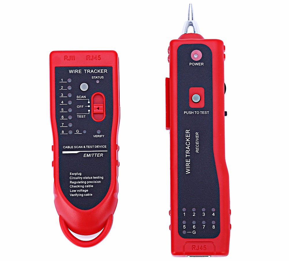 Sy 806 Functional Communication Network Wire Tracker 2550 Free Wholesale Multifunctional Digital Circuit Tester Voltage Detector Pen Package Contents 1 X Cable Emitter Receiver Rj11 Rj45 Earphone With Crocodile Clamp English User