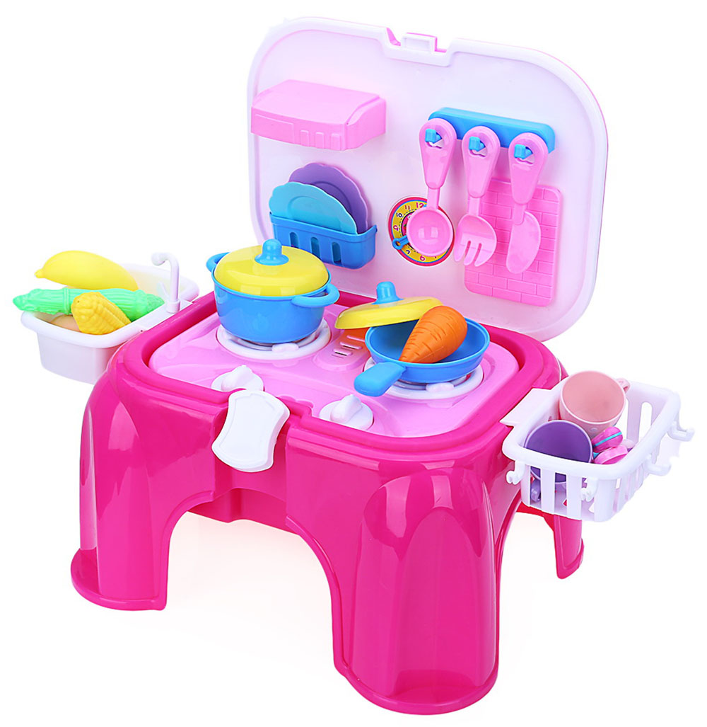 Kid Kitchen Chair Pretend Toy Set Sale Price Reviews Gearbest