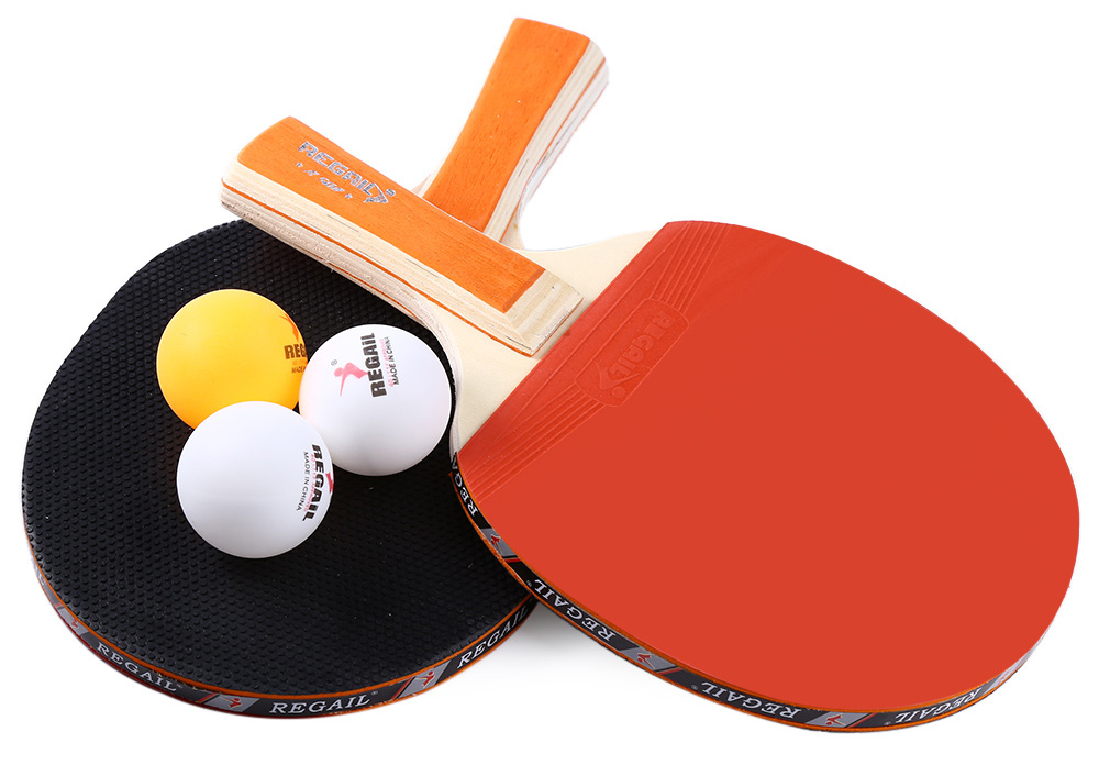 Regail A508 Table Tennis Ping Pong Racket Set 10 21