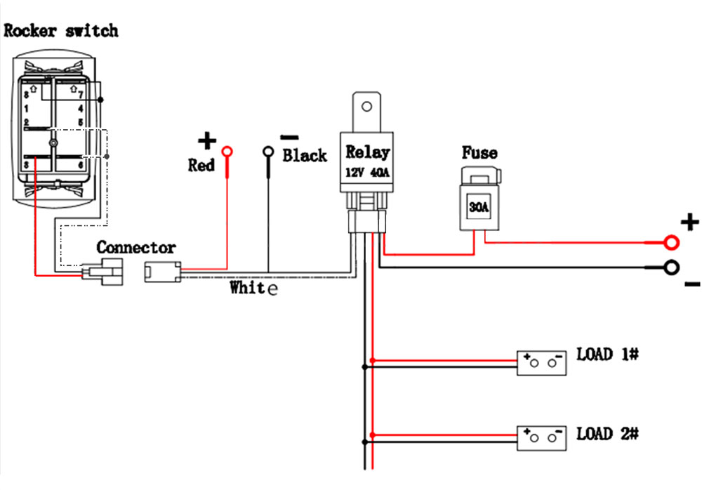 wire diagram for a light bar with switch   40 wiring