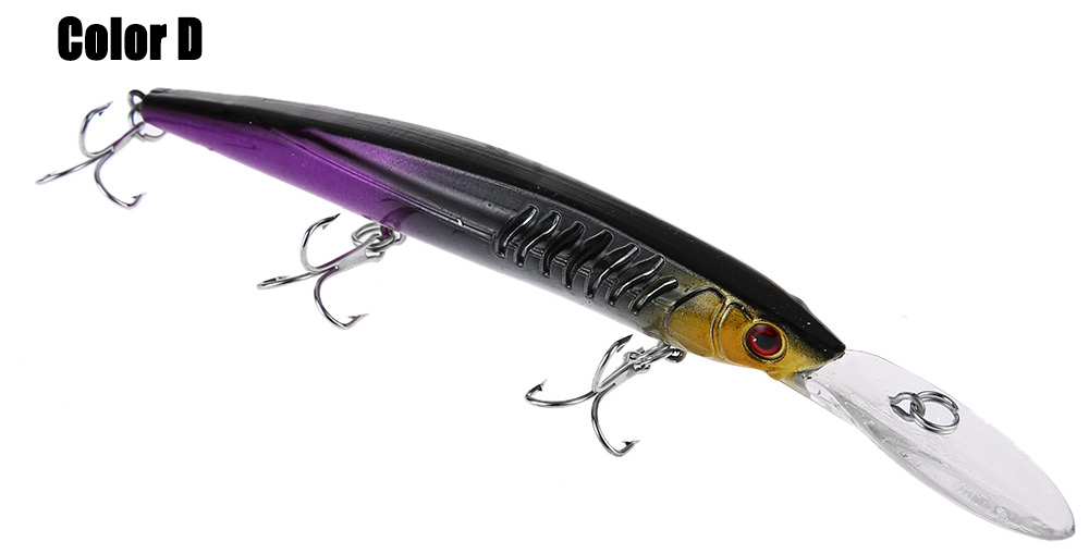 PROBEROS Hard Weever Shape Fishing Bait for Outdoor Activity