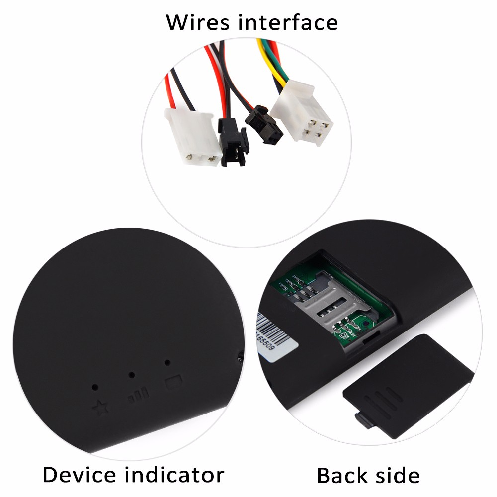 Gt06 Car Vehicle Motorcycle Gsm Gprs Gps Tracker 2508 Free Online Buy Wholesale Circuit Board From China Sms Locator Remote Control Alarm Black