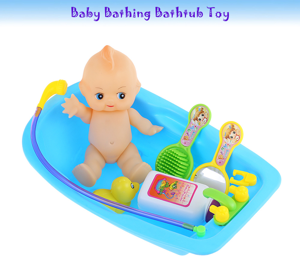 Simulated Infant Bathing Bathtub Toy - $4.85 Free Shipping|GearBest.com