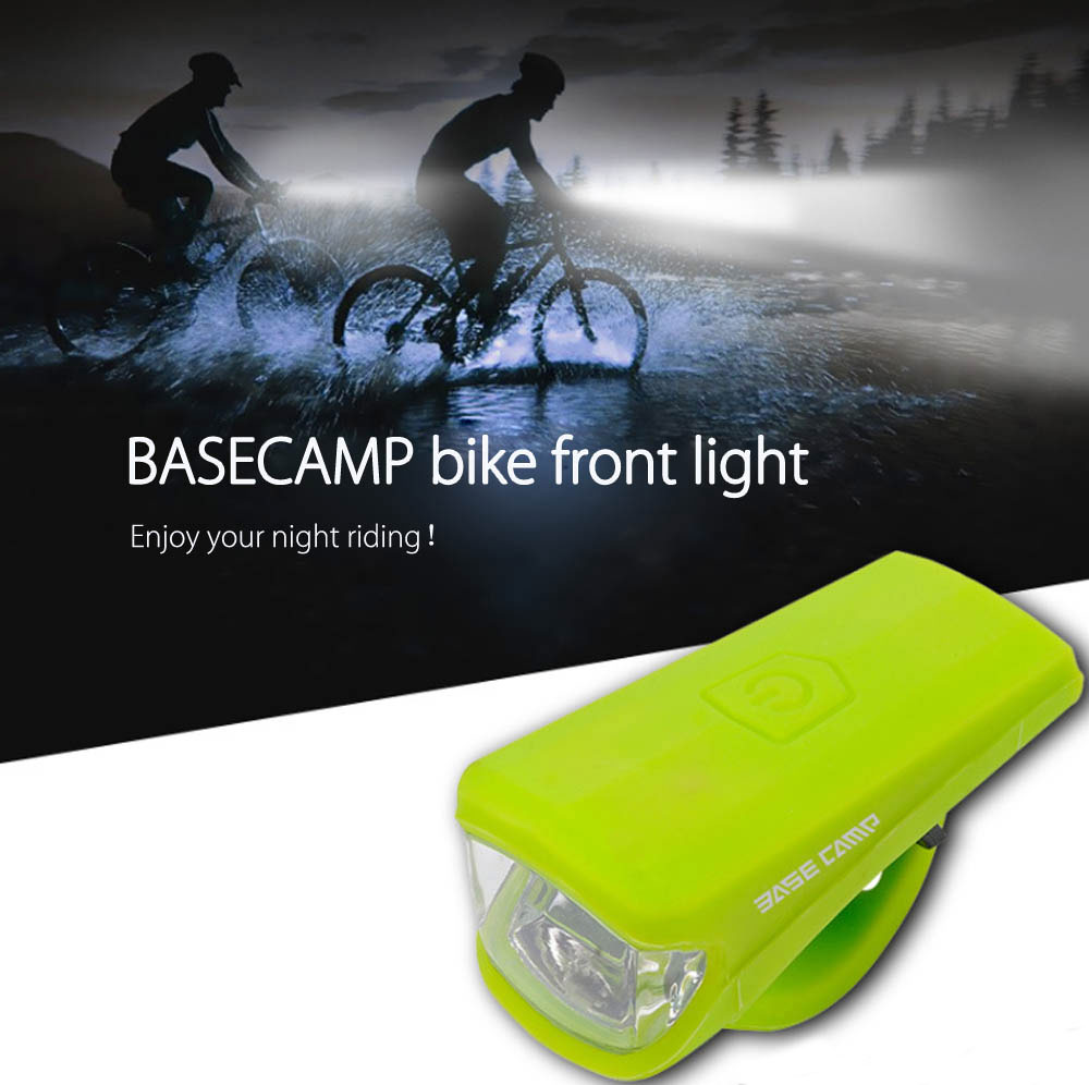 3W LED USB Charge MTB Light Silica Gel Waterproof Bicycle Front Light Bike New