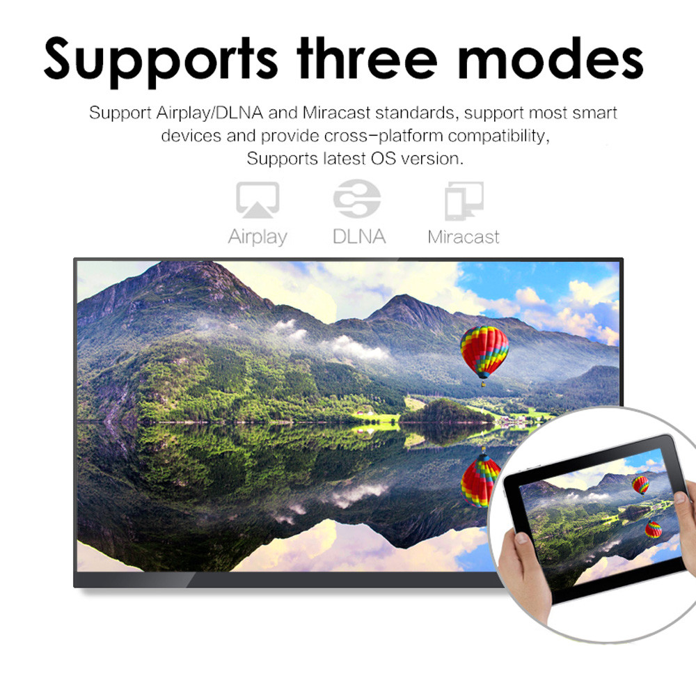 Anycast Dlna Airplay Wifi Display Miracast Tv Dongle 1399 Free M2 Plus To Hdmi Multi Receiver Airmirror Mini Android